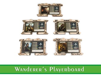 Dash Board for Lord of the Rings: Journeys in the Middle Earth   Journeys in the Middle Earth Adventurer's Playerboard   Lord of the Rings
