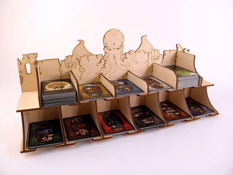 Card Holder for Arkham Horror Eldritch Horror Game  Card image 0