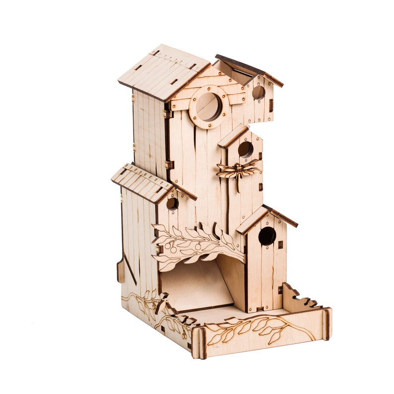 Dice Tower Bird Song for Wingspan Board Game Husband image 0