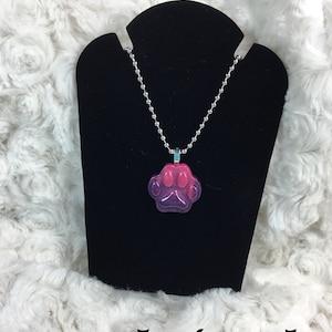Resin Pendant Necklace Premium Glitter