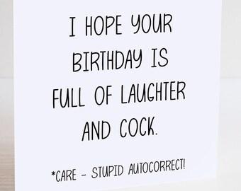 Adult Birthday Card Etsy
