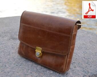 women leather bag pdf pattern