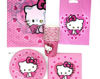 Hello Kitty Party supplies birthday afec5b63b5