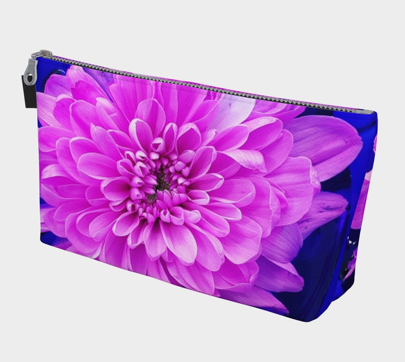 Floral Make up/cosmetic Bag carry all from an original photo image 0