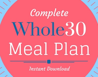 Whole30 Meal Plan for 2