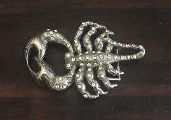 "Vintage Scorpion belt buckle, ""new"", scorpion acce"
