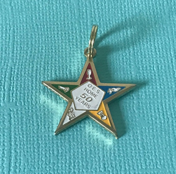 The order of the Eastern Star OES Personalized Charms for Bracelet Best DIY Jewelry Making Pendants for Necklace