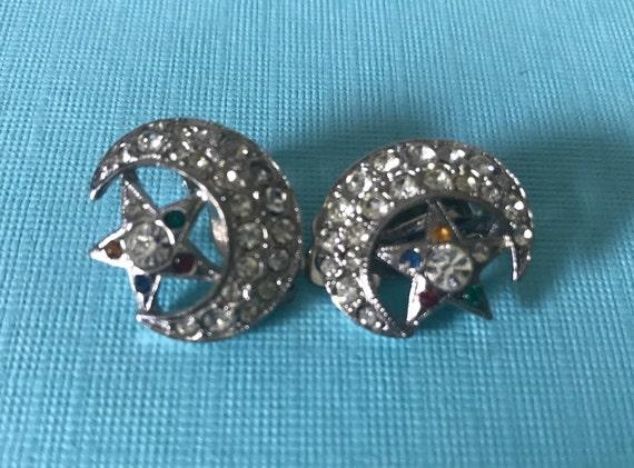 Order of the Eastern Star OES Star Earrings