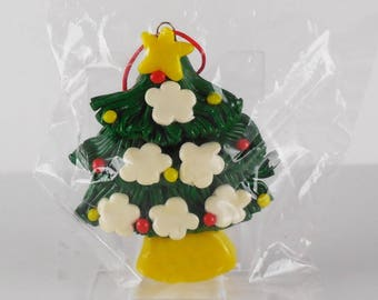 Vintage 80s 90s Simson Giftware Hanging Christmas Tree Ornament