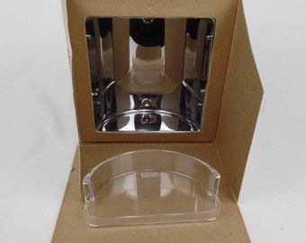 8ec9692a05 Hall Mack Polished Chrome Coronado Recessed Soap Holder Vintage #625 or 425  Bathroom Accessories