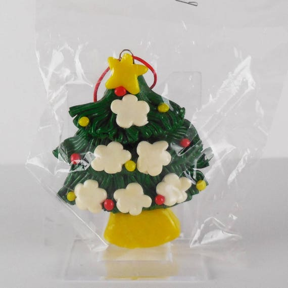 90s Christmas Tree Decorations.Vintage 80s 90s Simson Giftware Hanging Christmas Tree Ornament