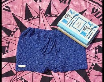 Crochet Shorts Ladies / Festival/ Denim / Girls -free shipping in Australia