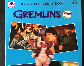 Gremlins Coloring & Activity Book by Golden
