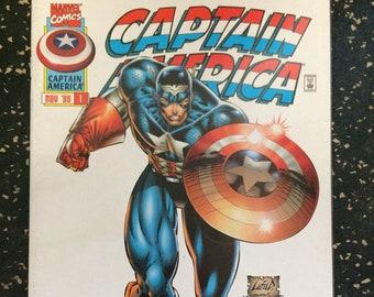 Captain America # 1 Comic by Marvel Comics
