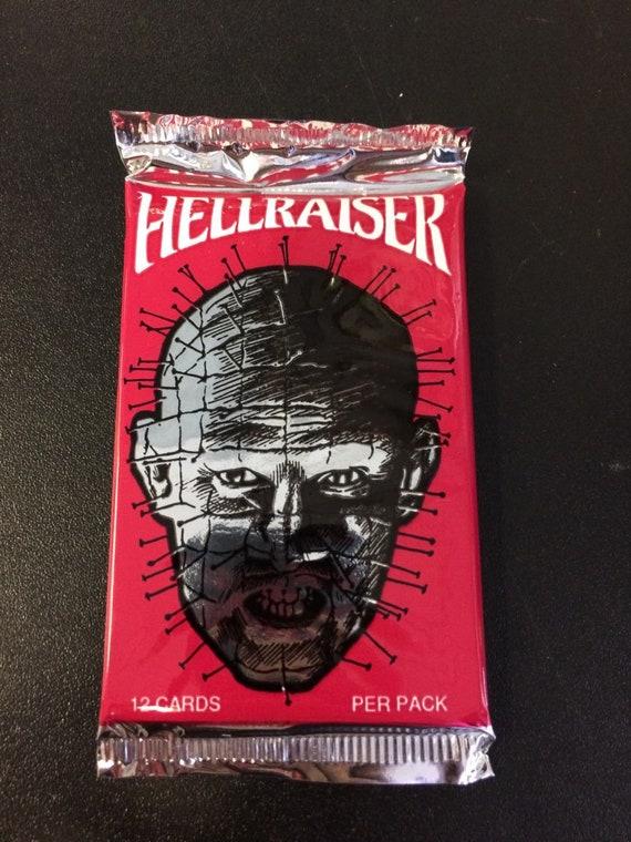 Trading Card Pack 1992 Eclipse Enterprises Sealed!! Hellraiser Movie