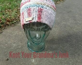Star pattern beanie - Crochet Beanie - Beanie - Hat - Winter Hat - Adult Beanie