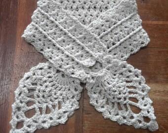 Journal made hand crochet scarf