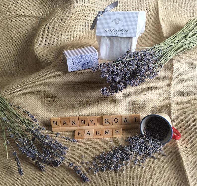 Nanny Goat Farms French Lavender Goat's Milk Soap