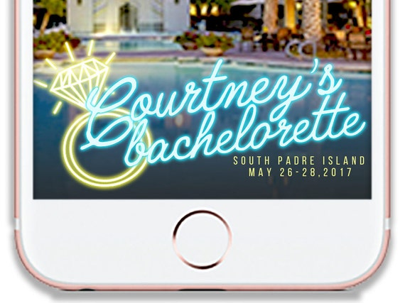 Aloha Beaches  Bachelorette Party  SnapChat Filter  Geo Filter  Last fling before the ring