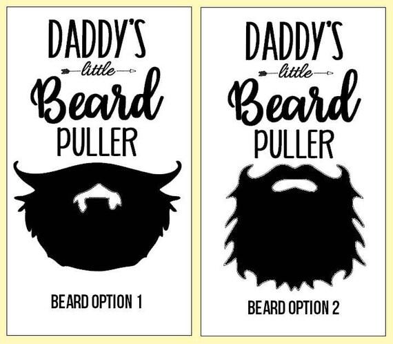 f7b1c8954 Daddy's little Beard Puller Daddy's Beard Puller   Etsy