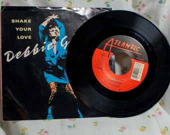 Debbie Gibson (7 inch) Record  Shake your Love / Shake your Love (Bad Dubb Version) - 45 Picture Sleeve
