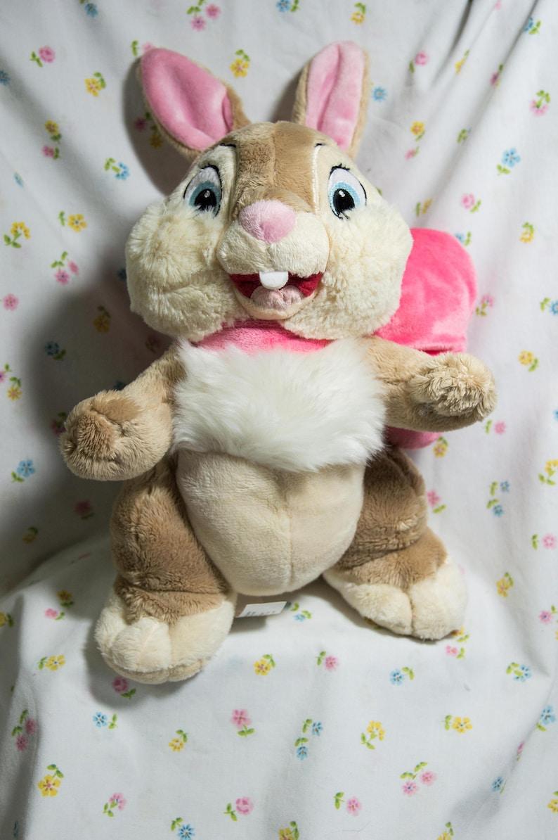 Disney Store Miss Bunny-Thumpers Girfriend Plush Bambi  9de71b528