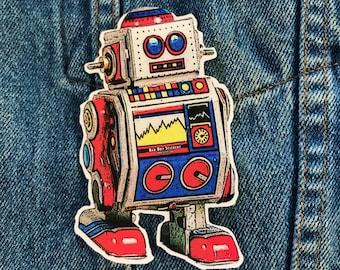 Robot 1 die-cut sticker