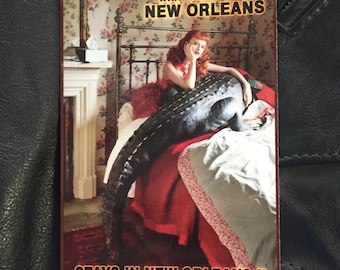 """What Happens In New Orleans 2 - 4""""x6"""""""
