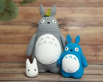 Receita Totoro Amigurumi   270x340