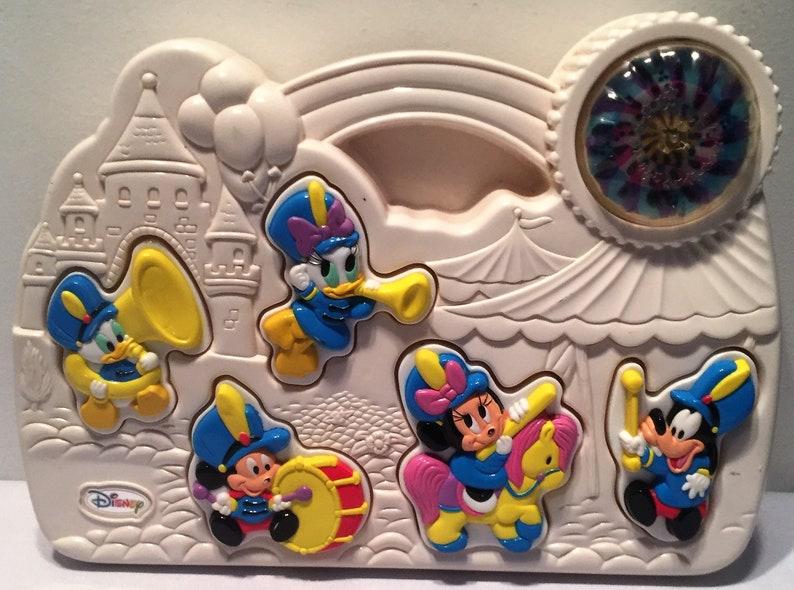 Mattel Mickey Mouse Music N Lights Parade Busy Box Crib Etsy