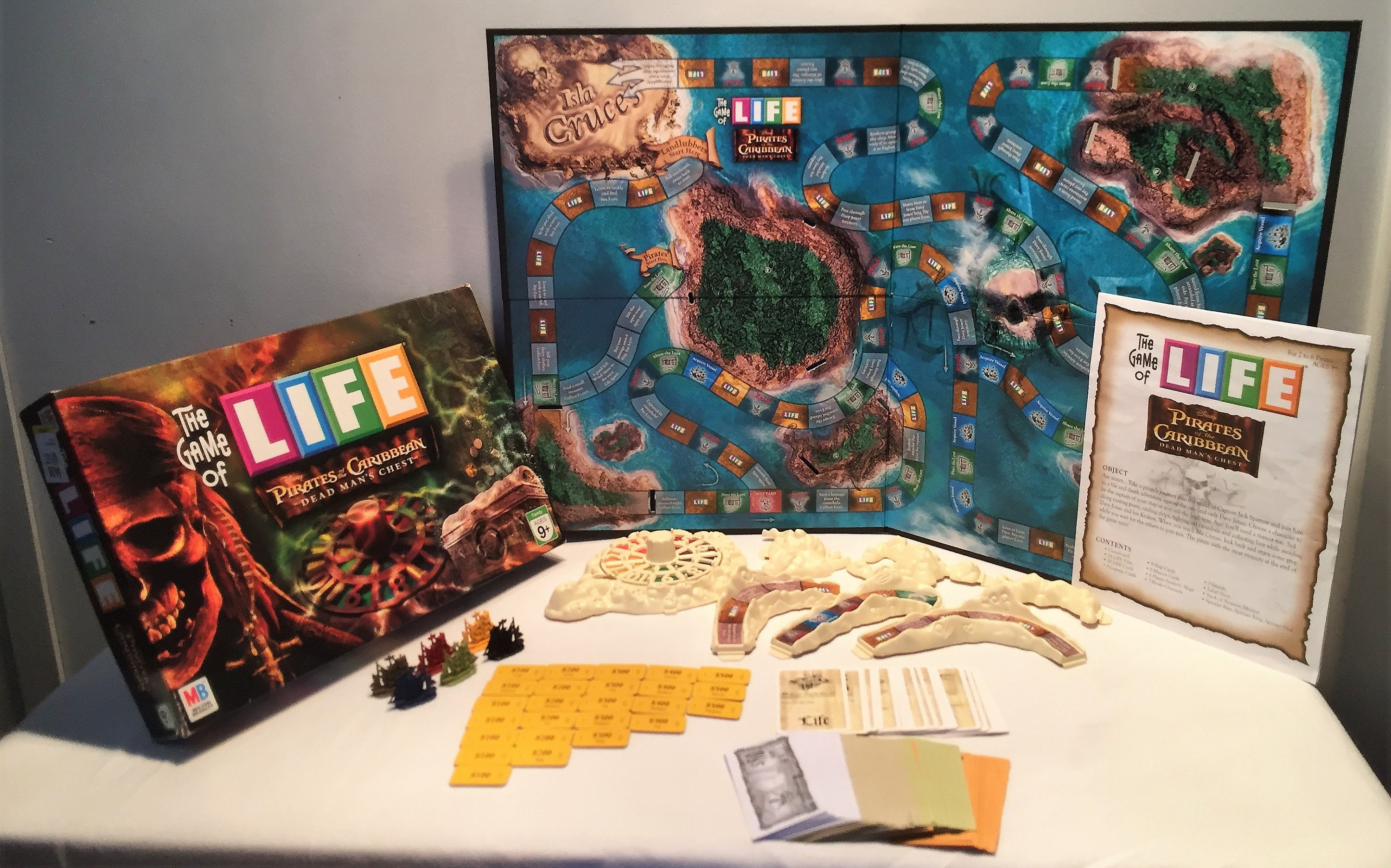 Game Of Life - Pirates Of The Caribbean Dead Man's Chest