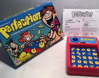 Perfection Board Game Complete and Working in Great Condition FREE SHIPPING