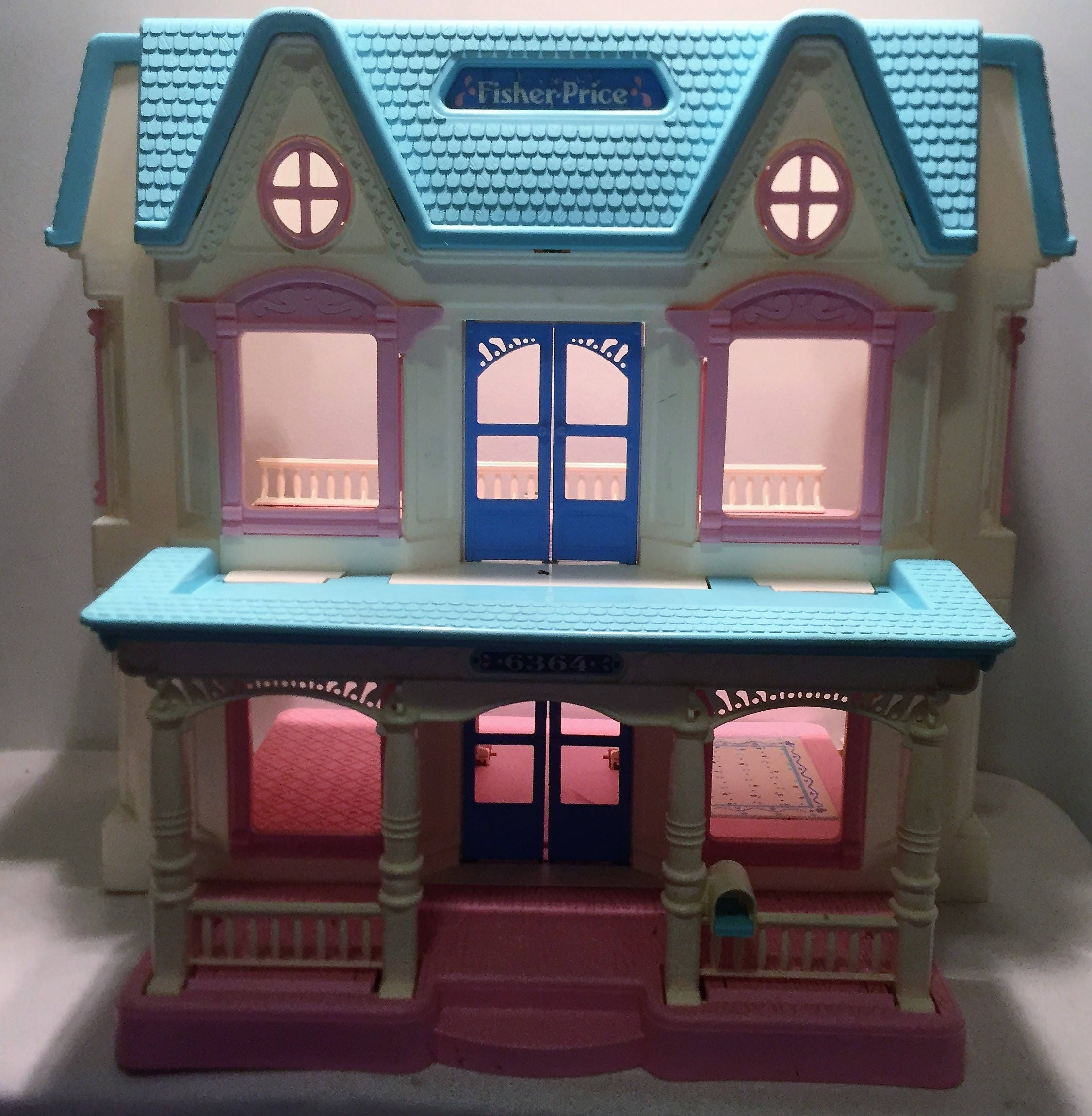 Vintage Fisher Price Loving Family Dream Dollhouse Great Condition