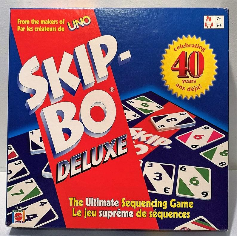 Skip Bo Card Game BRAND NEW