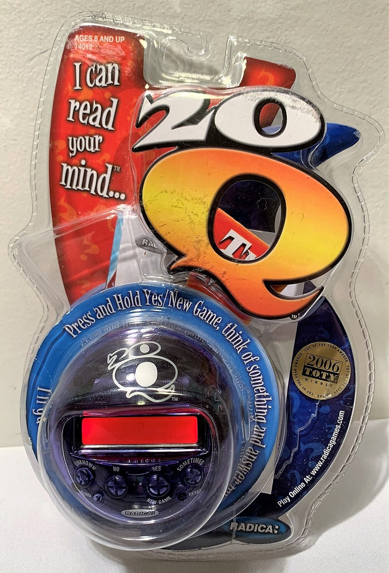 20 Q 20q Handheld Game Radica Brand NEW FREE SHIPPING