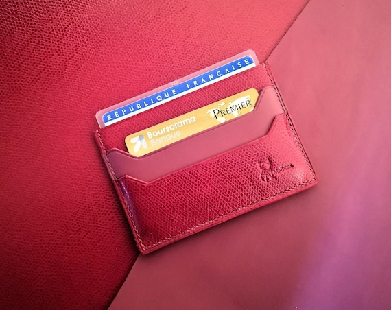 Card holder for french ID card