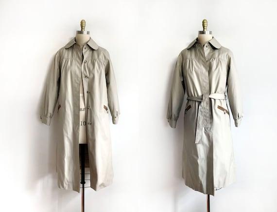 vintage trench coat - size 12 | Rainshedder rainco