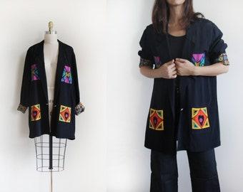 vintage oversize blazer | oversize jacket | platinium by dorothy schoelen blazer | vintage jacket | women jacket | light jacket