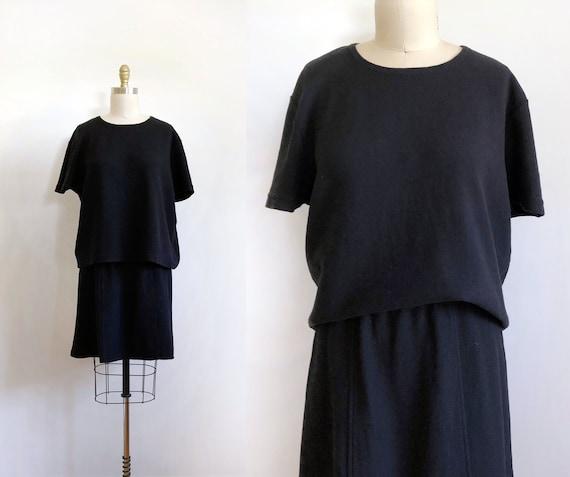 vintage skirt and top cotton set - 1 | vintage set