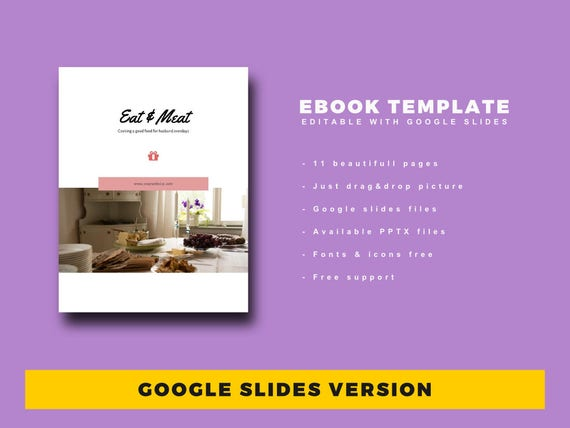 Buy 1 Get Free 1 Ebook Template 11 Pages Fully Editable Etsy
