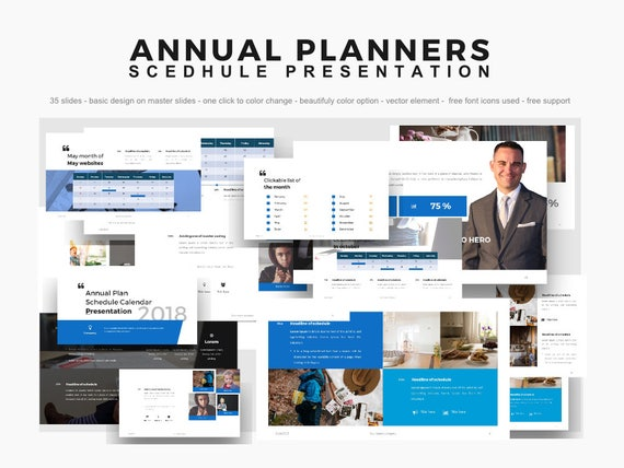 Buy  Get Free  Powerpoint Template Microsoft Powerpoint  Etsy Image