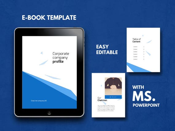 16 Pages Company Ebook Template Powerpoint Template Bullet Journal Template Graphic Design Branding Workbook Pre Made Ebook Modern