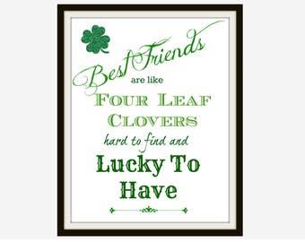 Best Friend Gift Gift For Friend Friend Print Friendship Etsy
