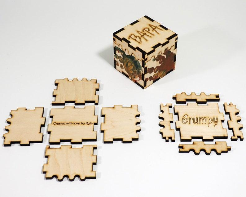 Customizable box for dad  DIY Kit image 0