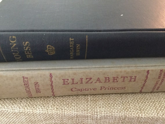 Elizabeth Captive Princess 1948 First Edition by Margaret Irwin Free Domestic Shipping