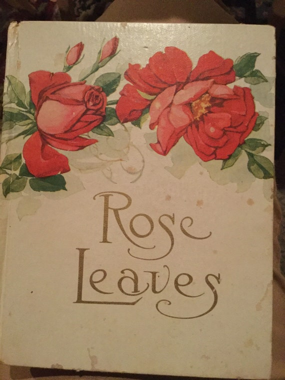 Rose Leaves Poetry book