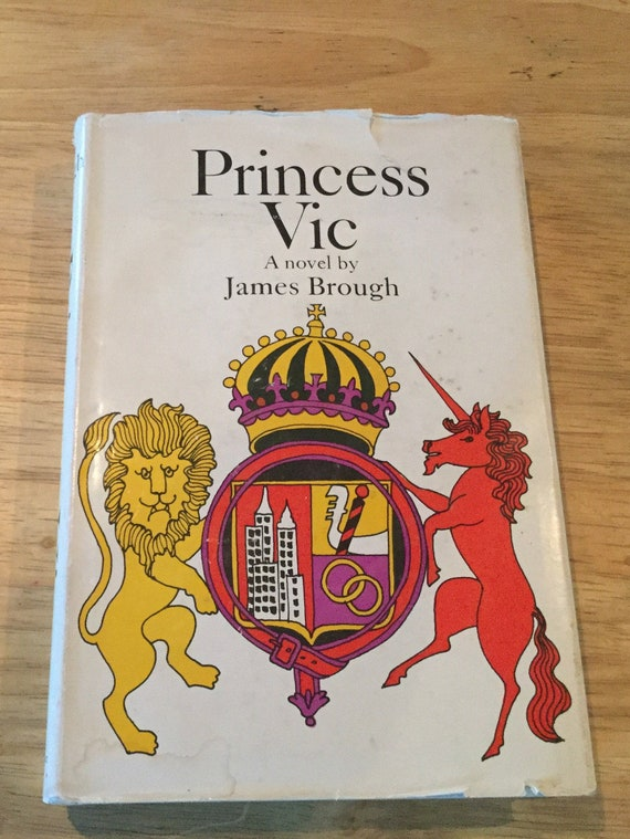 Princess Vic by James Brough 1965 First Edition