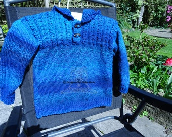 Boys Sweater, Boys Hooded Sweater, Boys Knitted Sweater, Boys Knitted Hoodie, Blue, Boys Blue Sweater, Boys Blue Hoodie, Boys Blue Jumper