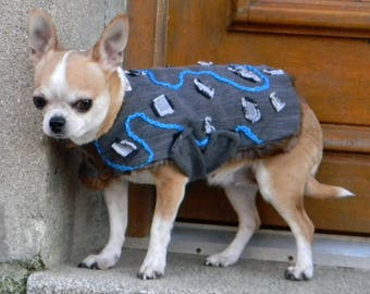 handmade clothing chihuahua dog chihuahua jacket