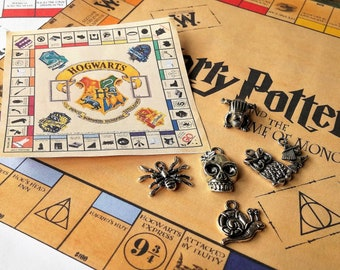 Harry Potter,Monopoly,8 or 10in Travel Set,Harry Potter Game, Handmade, Harry Potter, Monopoly Set,Harry Potter Gifts, Harry Potter Monopoly